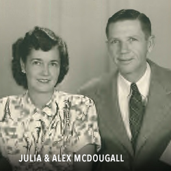 JULIA ALEX MCDOUGALL